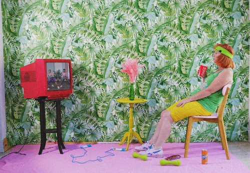 Parental Guidance: Vibrant, Surreal Portraits Made During Lockdown - Feature Shoot