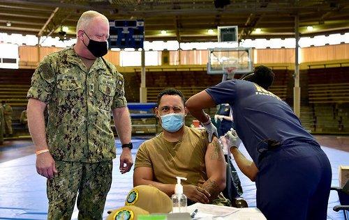 Navy Chief: Vaccine Hesitancy Concerning
