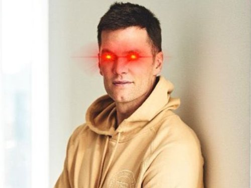 Tom Brady Signals He's Joined the Bitcoin Craze With 'Laser Eyes' Twitter Profile
