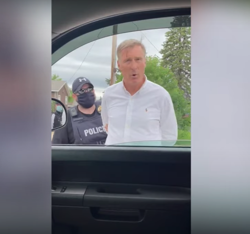 Canadian Political Leader Arrested for Attending Small Anti-Lockdown Protest—Days After Trudeau Attended Massive Ontario Gathering