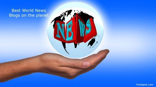 Top 100 World News Websites & Influencers in 2021
