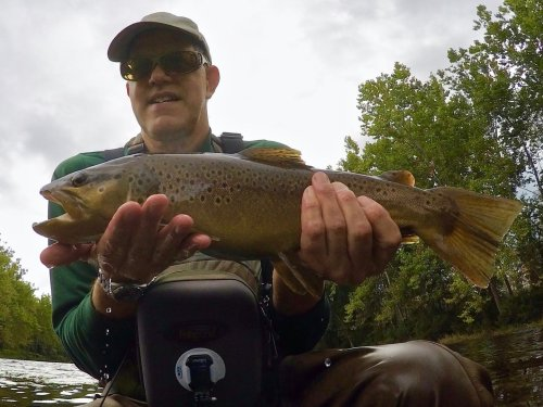 How To Catch Trout in Extreme High- and Low-Water Flows