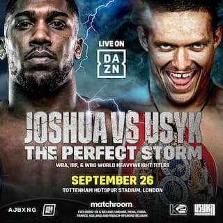 Joshua vs Usyk Australia time: How to watch fight live – all states and territories