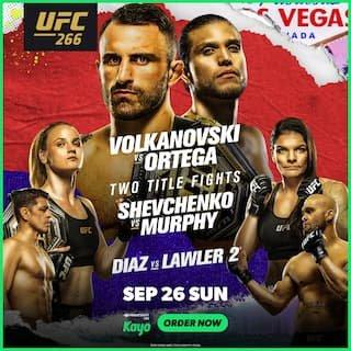UFC 266 Australia time: How to watch Volkanovski vs Ortega – all states and territories