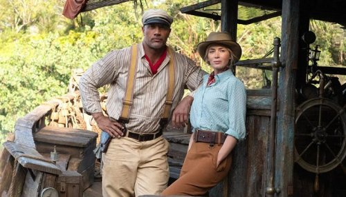 JUNGLE CRUISE: Dwayne Johnson & Emily Blunt's 2021 Disney Movie will be Released in Theaters & Streaming This July
