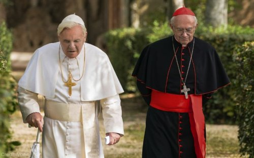 Visual Conflict In The Two Popes