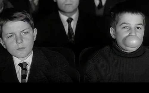 The Rebellious Teenager In The 400 Blows