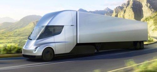 Teslas E-Lkw Semi Truck wohl kurz vor Produkstionsstart