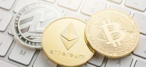 So bewegen sich die Kurse von Bitcoin, Litecoin, Bitcoin Cash und Ethereum