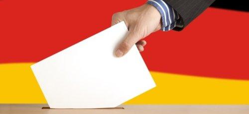 Bundestagswahl: Hochrechnungen sehen SPD vor Union - beide wollen regieren