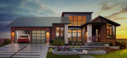 """Teslas Solardach: Elon Musk gesteht Fehler bei der Entwicklung des """"Solar Roof"""" ein"""