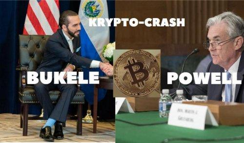 Krypto-Crash: Bukele und Jerome Powell! Marktgeflüster (Video)
