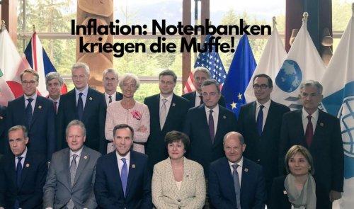 Inflation: Notenbanken kriegen die Muffe! Marktgeflüster (Video)