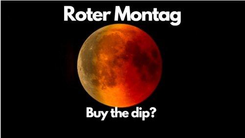 Aktienmärkte: Roter Montag – buy the dip? Marktgeflüster (Video)