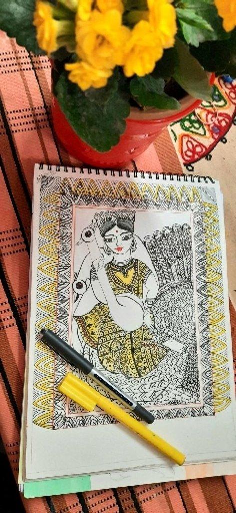 Art & Hand Lettering  - cover