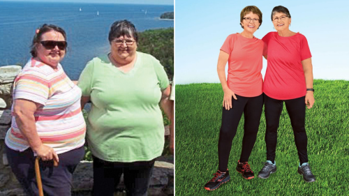 2 Sisters Lost Over 370 Pounds by Taking Up This Simple Exercise