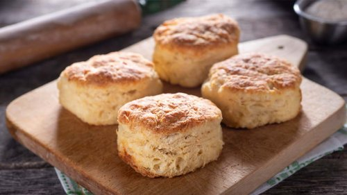 These 2-Ingredient Biscuits Are So Easy to Make and Taste Just as Flaky and Delicious