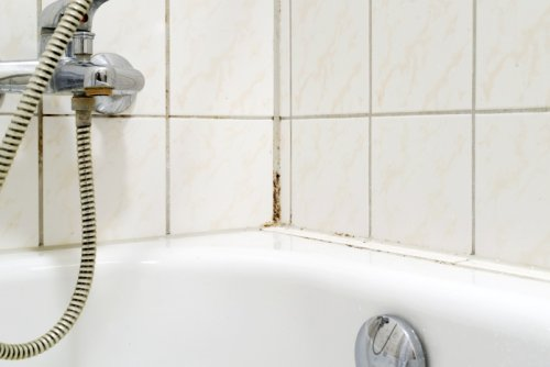 Remove Mold and Mildew From Bathtub Corner Tiles With This Simple Hack