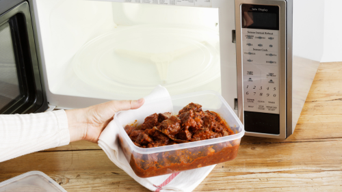 This Microwave Hack Will Reheat Your Leftovers Much More Evenly — and in Less Time