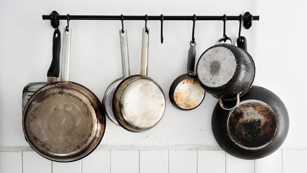 Cleaning Pots And Pans - cover