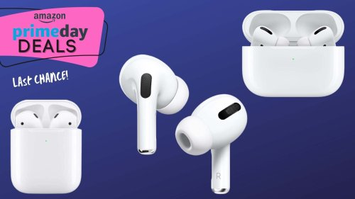 Apple AirPods Are 24% Off for Prime Day — But Not for Long!