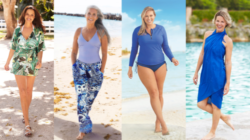4 Swim Cover-Ups That Will Flatter Your Figure - First For Women