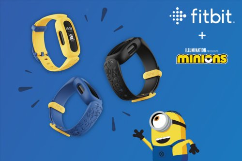 Get Kids Motivated with Fitbit's New Minions Partnership for Ace 3 - Fitbit Blog