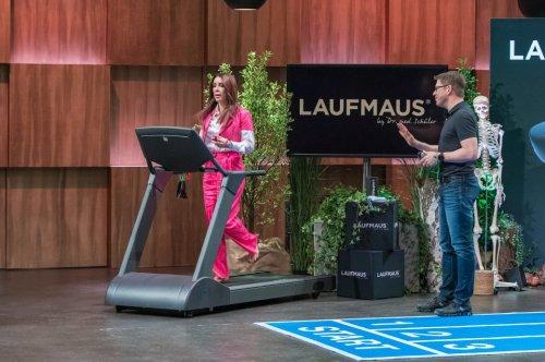 """""""Laufmaus"""" bei DHDL – Griff-Tool soll beim Laufen die Körperhaltung verbessern"""