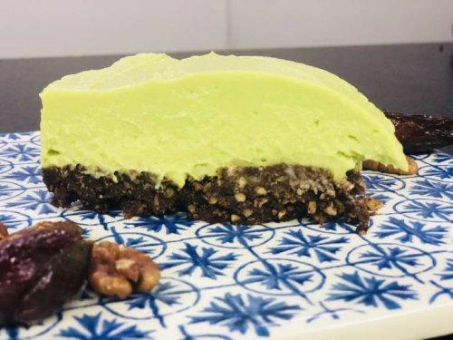 Rezept für wunderbar cremigen Avocado-Cheesecake