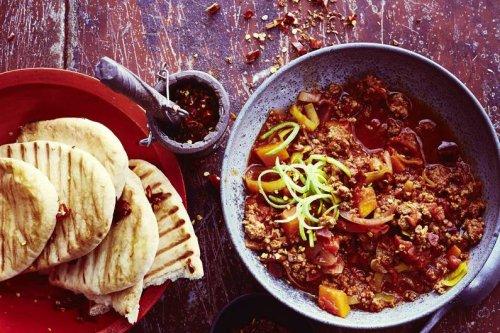 Red Hot Chili Con Carne mit Kürbis und Roter Bete Rezept - FIT FOR FUN