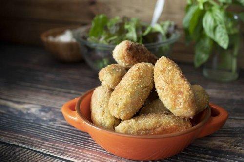 Rezept von TikTok-Star Stefano Zarrella: So machst du vegane Süßkartoffel-Nuggets - FIT FOR FUN