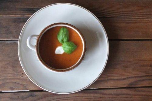 Rezept für ofengeröstete Tomatensuppe