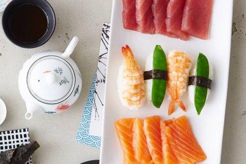 Nigiri Sushi mit Zuckerschote Rezept - FIT FOR FUN