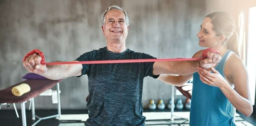 Over 60? 10 Best Resistance Band Workouts You Can Do At Home