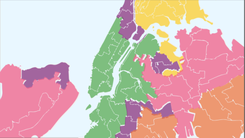 The 5 Political Boroughs Of New York City