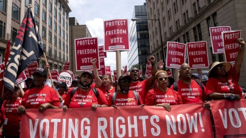 What The Latest Debate Over Voting Rights Means For American Democracy