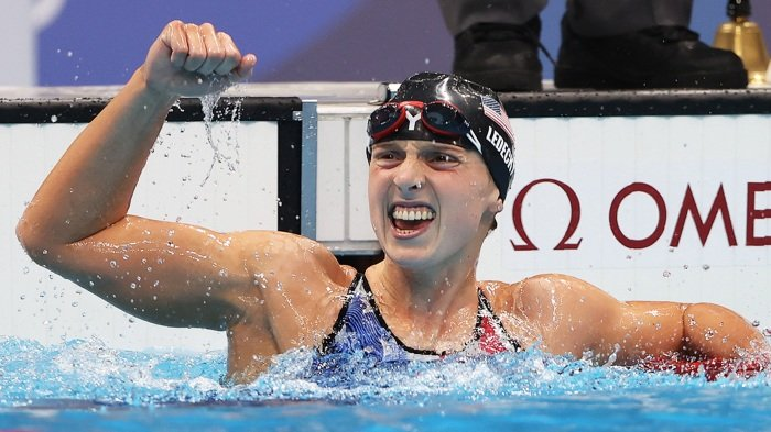 No One Can Catch Katie Ledecky In The Mile