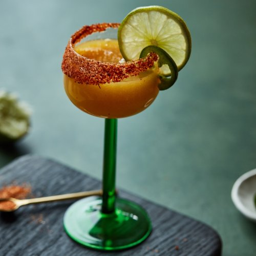 Bring the Heat With This Spicy Mango Margarita