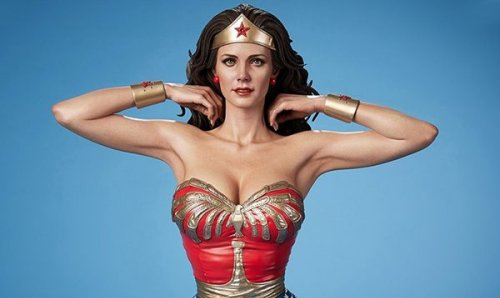 Lynda Carter's Wonder Woman gets a new Museum Masterline statue from Prime 1 Studio and Blitzway