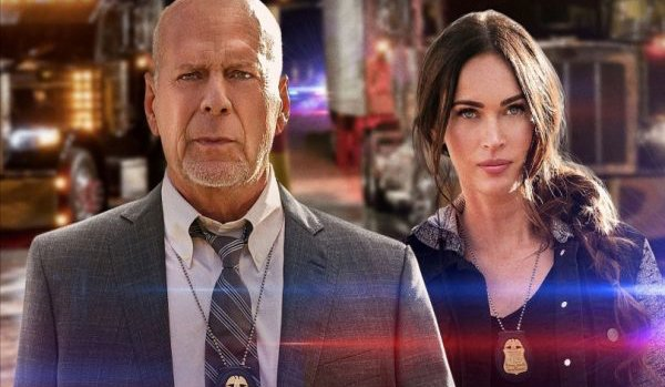 Bruce Willis and Megan Fox in Bad Movie Shock! - cover