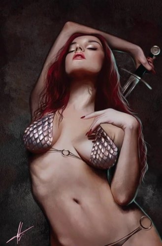 Comic Book Preview - The Invincible Red Sonja #1