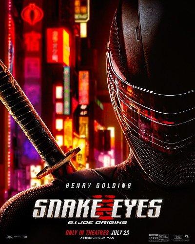 Snake Eyes: G.I. Joe Origins poster released ahead of new trailer