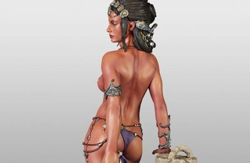 Sideshow unveils new Dejah Thoris Princess of Mars collectible statue