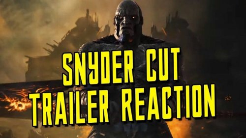 Zack Snyder's Justice League DC FanDome Trailer Reaction