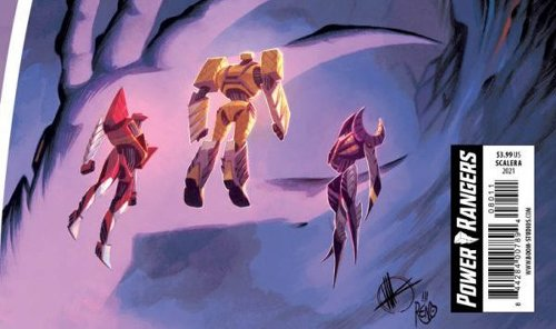 Comic Book Preview - Power Rangers #8