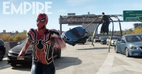 New images from Spider-Man: No Way Home featuring Spidey and Doc Ock