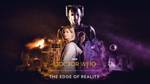 The Thirteenth and Tenth Doctors team for Doctor Who: The Edge of Reality this September