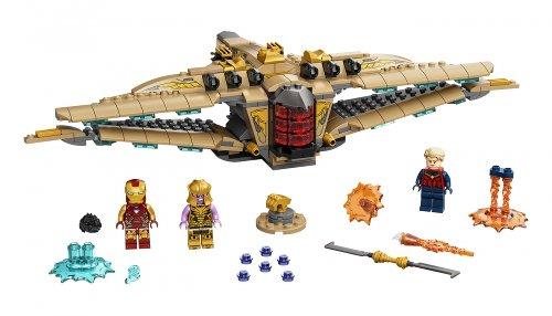 LEGO Marvel Sanctuary II: Endgame Battle set incoming in October