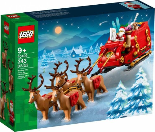 LEGO to deliver festive cheer with Santa's Sleigh set