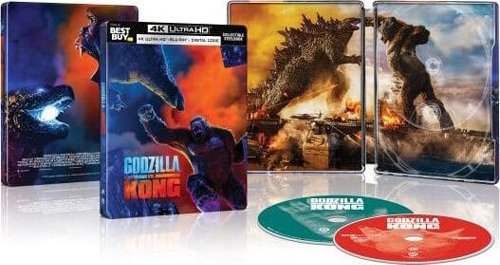 Godzilla vs. Kong home entertainment release details and special features revealed